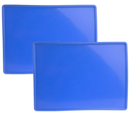 "Technique Set of 2 15"" x 11"" Silicone Baking Boards"
