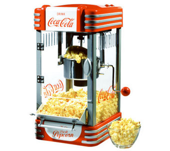 Nostalgia Electrics Coca-Cola Series Kettle Popcorn Maker - K300992