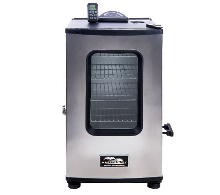 Masterbuilt Stainless Steel 4 Rack Digital Electric Smoker with Remote