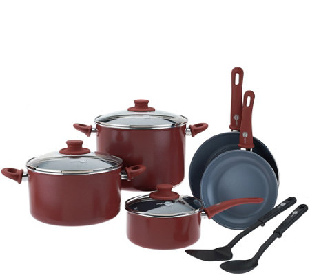 Green Pan 10-piece Cookware Set with Ceramic Nonstick