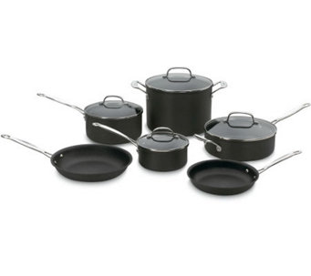 Cuisinart Chef Classic Nonstick Hard Anodized 10-Piece Set - K298093