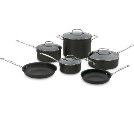 Cuisinart Chef Classic Nonstick Hard Anodized 10-Piece Set
