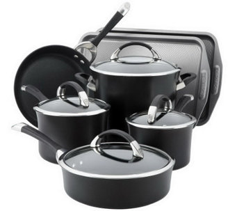 Circulon Symmetry 9-Piece Cookware Set with 2-Piece Bakeware - K302193