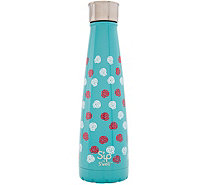 S'ip by S'well 15-oz Stainless Water Bottle - Sugar Skulls - K306793