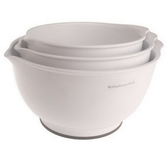 KitchenAid Set of 3 Non-Slip Mixing Bowls - K34993