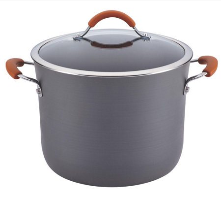 Rachael Ray Cucina Hard-Anodized 10-qt CoveredStockpot