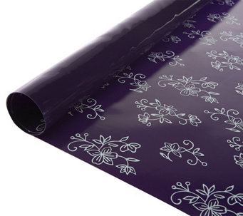 "Temp-tations Floral Lace 70"" x 24"" Oven Liner Roll - K42794"