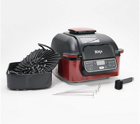 Ninja Foodi 6 Qt Indoor Grill W Air Frying Skewers Recipes