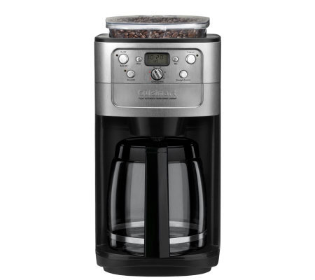 Cuisinart Grind & Brew 12-Cup Coffee Maker w/ Bean Hopper