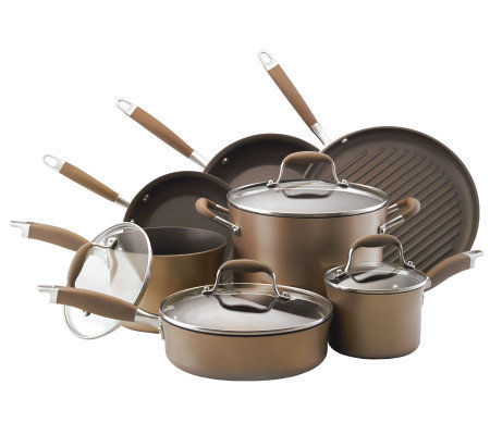 Anolon Advanced Bronze 11-Piece Set