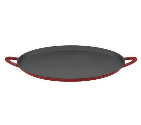 "Mario Batali by Dansk Classics Cast-Iron 12"" Pizza Pan/Griddl"