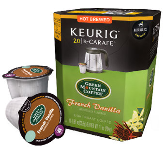 Keurig 48-ct Green Mountain French Vanilla K-Carafe Pods - K303795