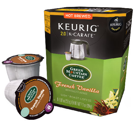 Keurig 48-ct Green Mountain French Vanilla K-Carafe Pods