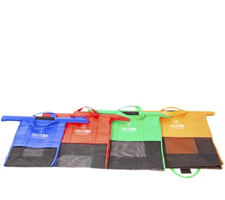 Trolley Bags Reusable Grocery Cart Wide Original Shopping Bags