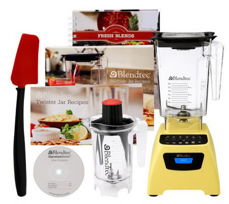 Blendtec 90 oz. Signature Series Blender with 32 oz. Twister Jar
