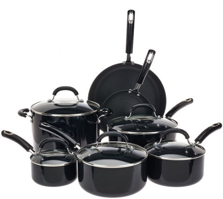 Circulon 12-Piece Porcelain Enamel Cookware Set
