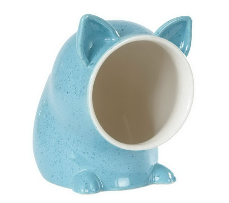 Paula Deen Speckled Ceramic Salt Pig