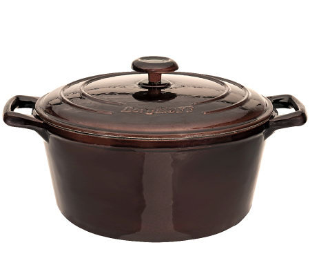 "BergHOFF Neo 11"" 7.3-qt Cast-Iron Covered Stockpot"