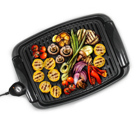 "Elite Cuisine 13"" Countertop Indoor Grill"