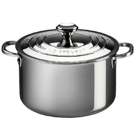 Le Creuset Stainless Steel 11-qt Stockpot withLid