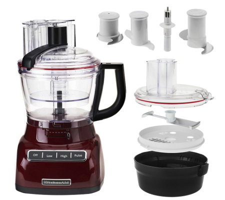 High Quality KitchenAid 13 Cup Food Processor W/ Dicing Kit U0026 Exact Slice