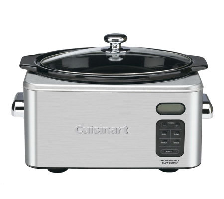 Cuisinart 6.5 Qt Programmable Slow Cooker