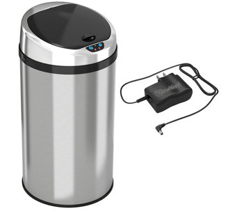 itouchless 8-Gallon Round Trash Can - K126797