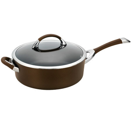 Circulon Symmetry Chocolate 5-qt Covered SautePan