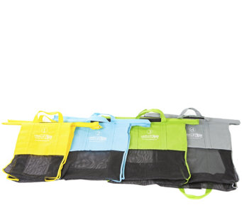Trolley Bags Reusable Grocery Cart Wide PastelShopping Bags - K305597