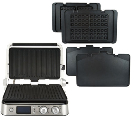 Delonghi 6-in-1 Livenza All-Day Digital Grill w/Waffle & Griddle Plates