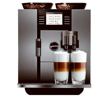 jura giga 5 automatic coffee center. Black Bedroom Furniture Sets. Home Design Ideas