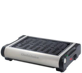 Chef's Choice Cast-Iron Professional Indoor Electric Grill - K304898