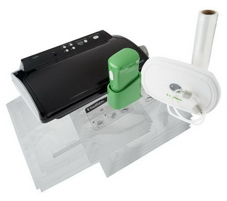 FoodSaver Vacuum Sealing System with FreshSaver Handheld Sealer