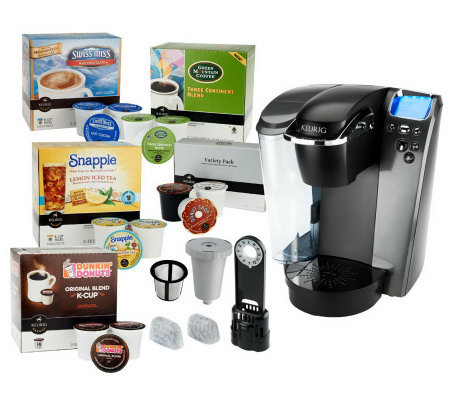 Keurig K79 Platinum Plus Coffeemaker w/ 70 K-Cups, My K-Cup & Filter