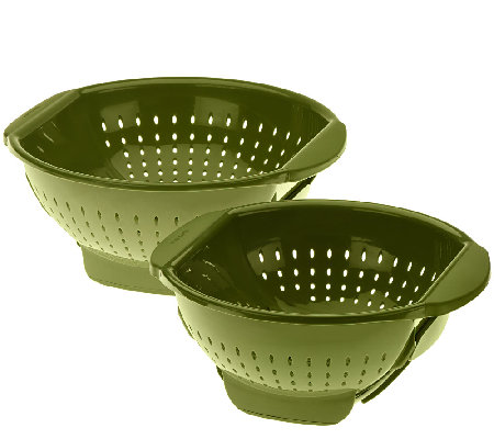 Farberware 3qt and 5qt Trap Door Colanders