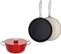 CooksEssentials 4-piece Light Weight Cast Iron Set - K44198