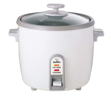 Zojirushi 6 Cup Rice Cooker, Steamer & Warmer