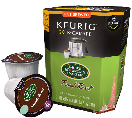Keurig 48-ct Green Mountain Coffee French RoastK-Carafe Pods