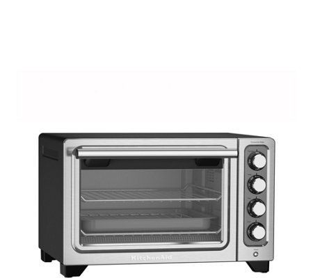 KitchenAid Compact Countertop Oven - Matte Black
