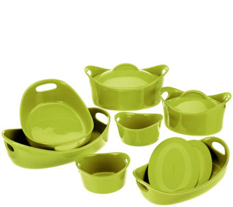 Rachael Ray Bubble & Brown 11-Piece Bakeware Set - K40999