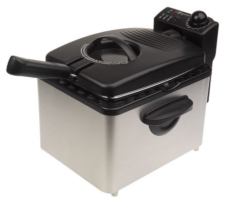 Westinghouse 3.5 qt. Stainless Steel Deep Fryer