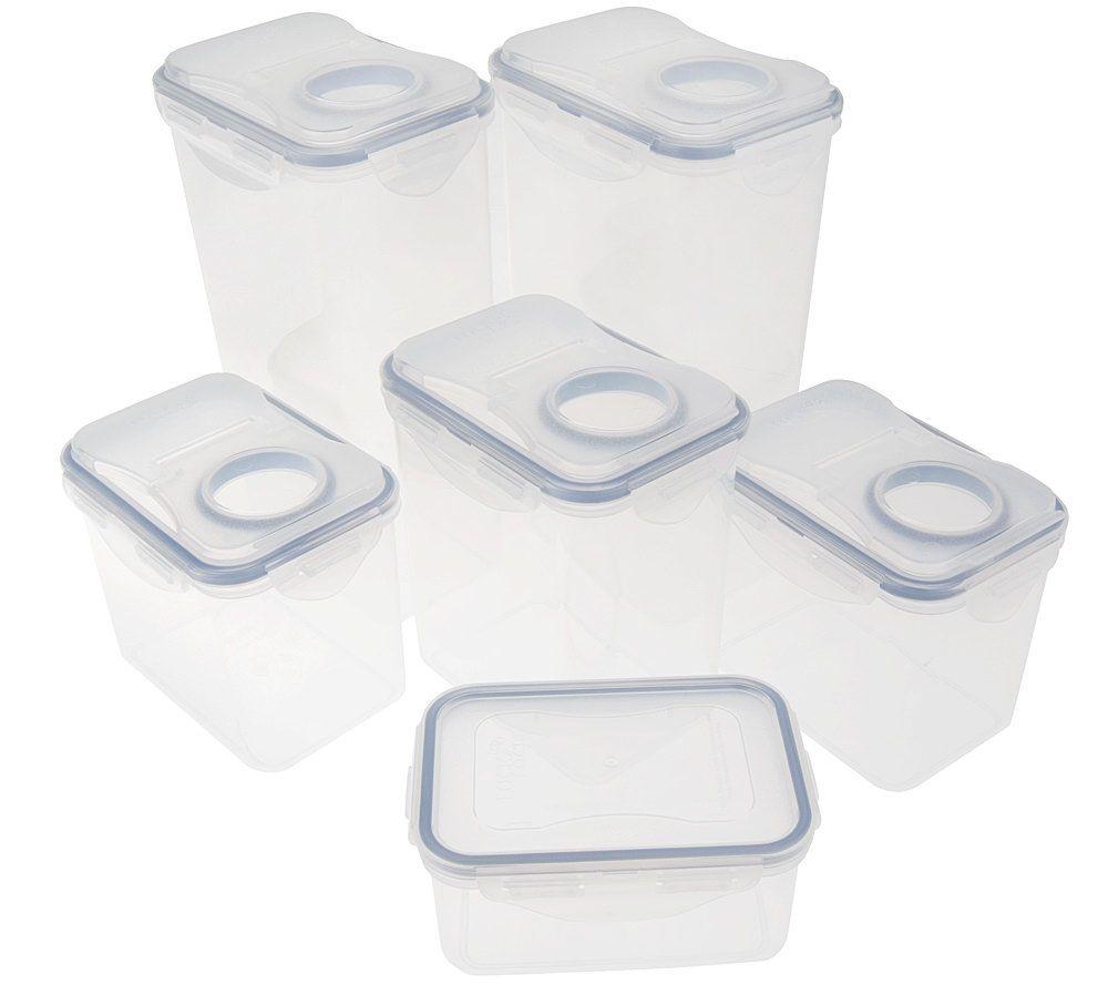 Flip Top Food Storage Container Set   Page 1 U2014 QVC.com