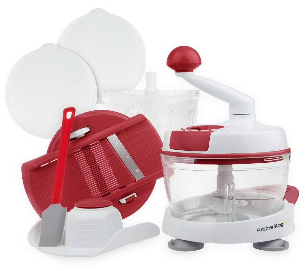 Superb Kitchen King Pro 11 Piece Food Preparation Station   Page 1 U2014 QVC.com