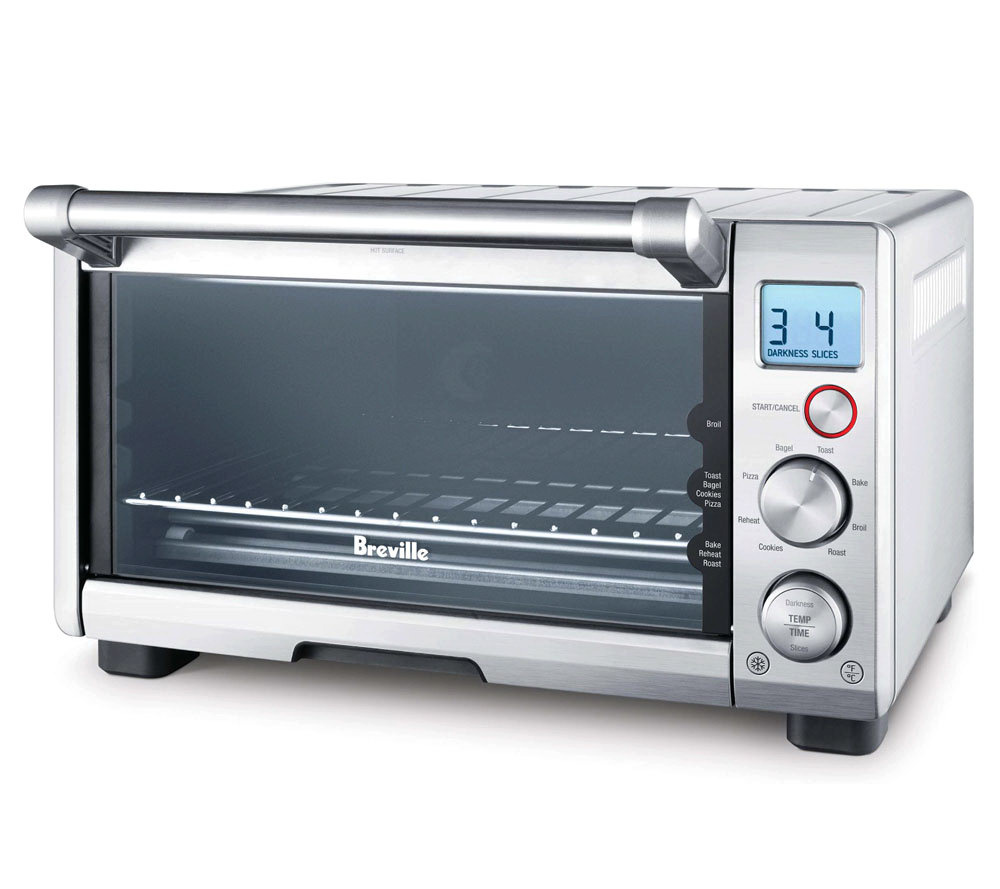 breville the compact smart oven - page 1 — qvc