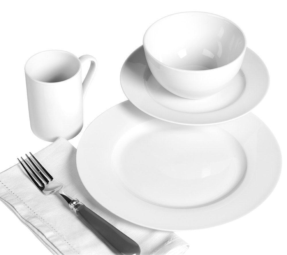 Tabletops Gallery 16 Pc Soleil Dinnerware Set   Page 1 U2014 QVC.com