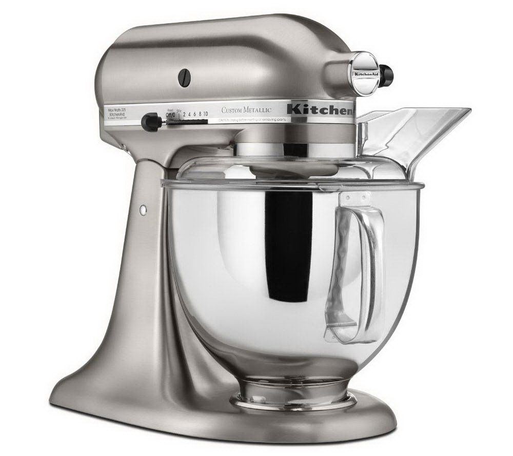 KitchenAid 5 Qt Metallic Series Stand Mixer   Page 1 U2014 QVC.com