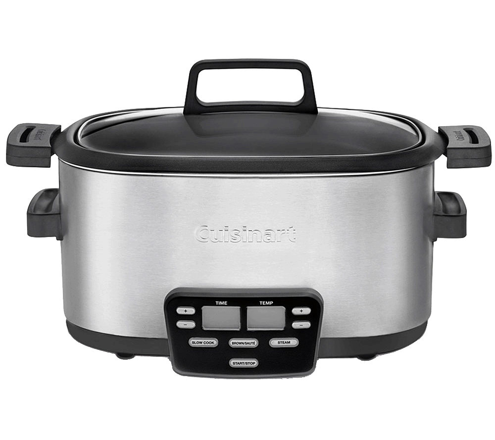 cuisinart cook central 3-in-1 multi-cooker - page 1 — qvc