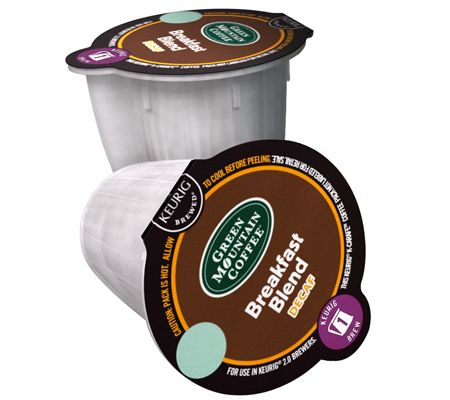 keurig 48ct green mountain breakfast blend decaf kcarafe pods u2014 qvccom