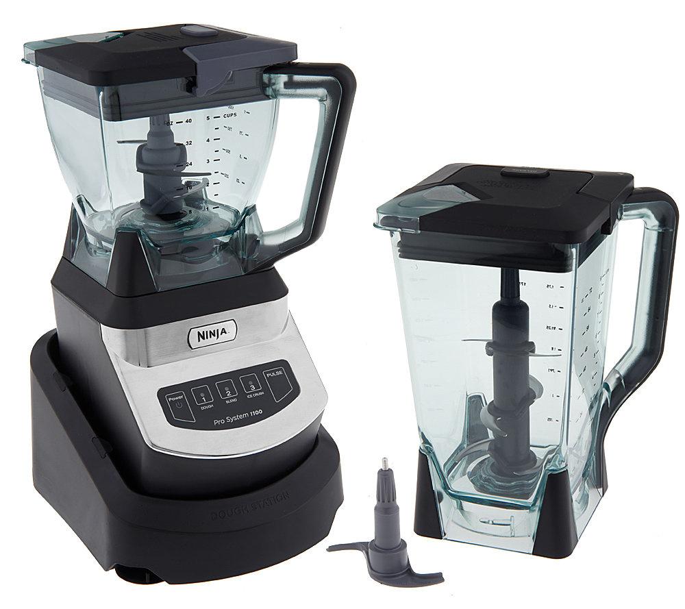 Ninja Kitchen System 1100 Watt 72 oz Blender w/ 40 oz Bowl - Page ...