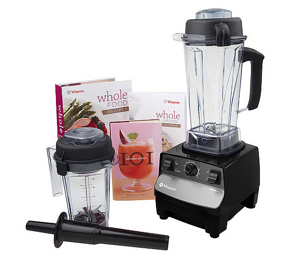 Vitamix 5000 variable speed blending system wdry container vitamix 5000 variable speed blending system wdry container recipe books page 1 qvc forumfinder Choice Image